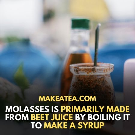 How is molasses made