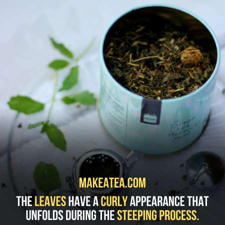 tea leaves container