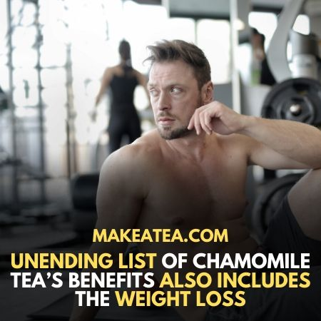 Weight loss using Chamomile tea