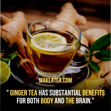 Ginger Chamomile Tea Benefits for Body and Brain