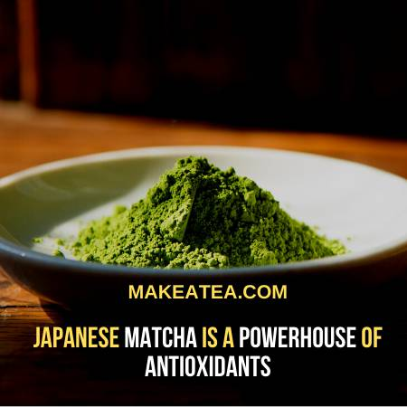 Green Tea Frappe with Japanese Matcha